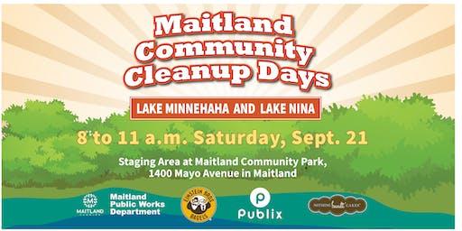 Maitland Community Cleanup Day - Lake Minnehaha and Lake Nina