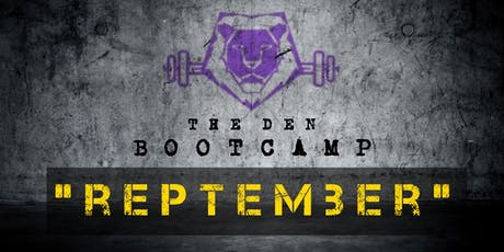 REPTEMBER - Lions Gym Boot Camp tickets