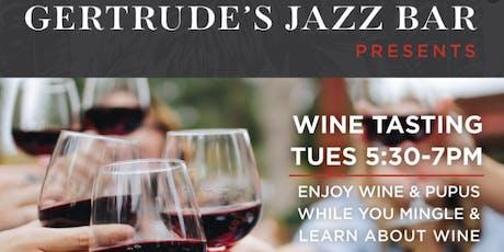 Gertrudes Jazz Bar Wine Tasting tickets