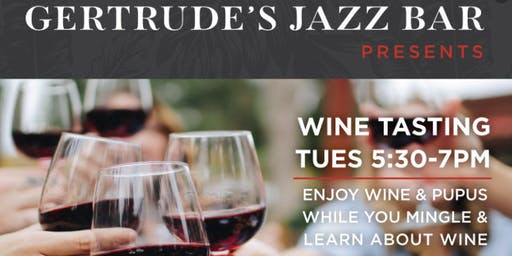 Gertrudes Jazz Bar Wine Tasting