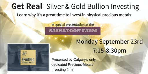 Get Real - Silver & Gold Bullion Investing