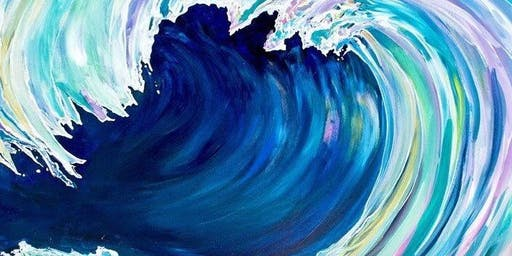 New Date! Catch the Wave - Acrylic Painting Class - Mount Ulla