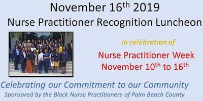 Nurse Practitioner  Recognition Luncheon