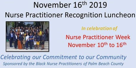 Nurse Practitioner  Recognition Luncheon tickets