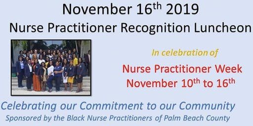 Nurse Practitioner  Recognition Luncheon