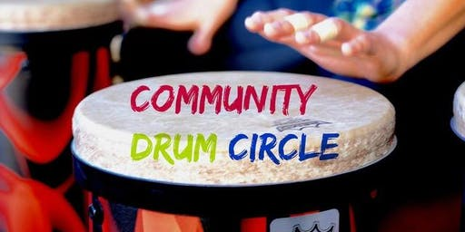 Drum Circle - Free & Open to the Public