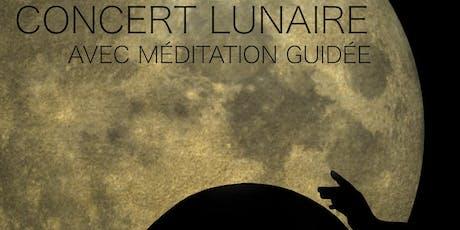 Concert lunaire avec méditation guidée tickets