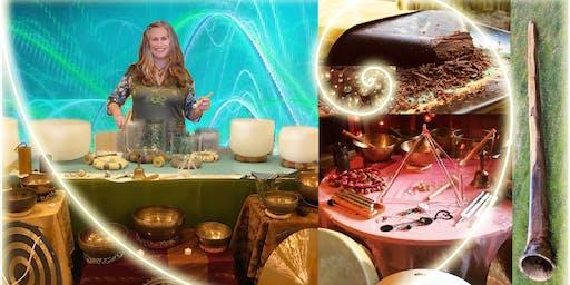 Autumnal Equinox Cacao Ceremony & Sound Bath Journey with Mikaela Jones