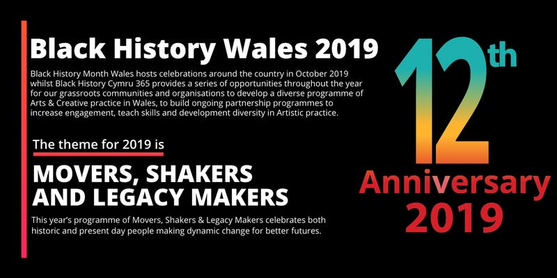 Black History Month Wales 2019 North Wales Launch