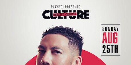 CULTURE INDUSTRY HIPHOP SUNDAYS - DJ FLIGHT SUN AUG 25TH @ AVERY LOUNGE! tickets