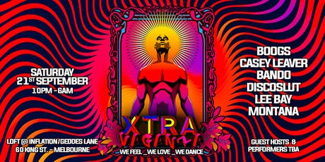 Xtravaganza we Feel/we Love/we Dance with Boogs+Casey Leaver tickets