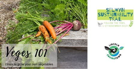 Grow your own Veges 101 - Selwyn Sustainability Trail tickets
