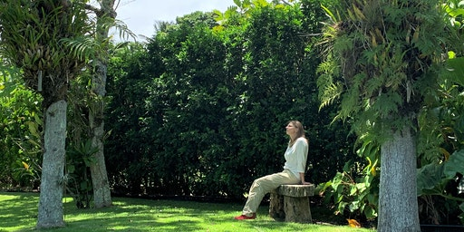 Forest Bathing in an Artist's Garden