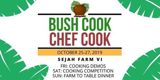 2019 Bush Cook Chef Cook