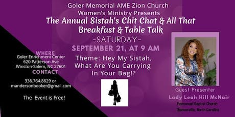 Annual Chit Chat & All That Sistah's Breakfast & Table Talk tickets