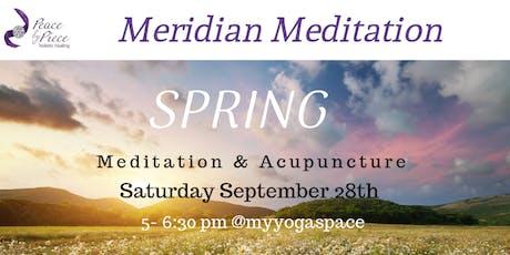 Meridian Meditation - Spring tickets
