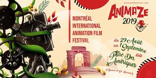Animaze Montreal International Animation Festival 2019