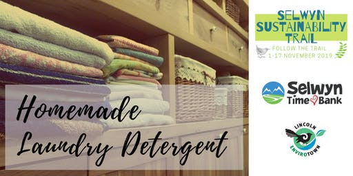 Homemade Laundry Detergent - Selwyn Sustainability Trail