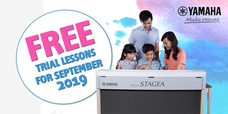 FREE Trial Lesson @ Yamaha Music School | SAFRA Punggol Branch | Sep'19 tickets