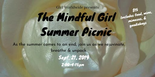 The Mindful Girl Picnic