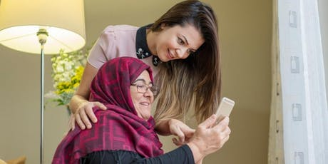 Tech Savvy Seniors -Introduction to Tablets presented in Arabic tickets