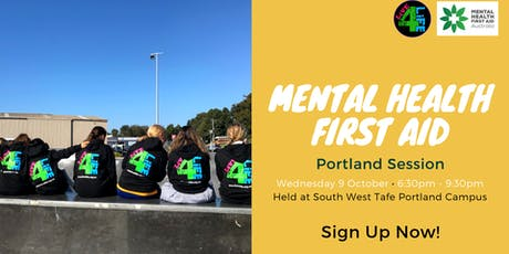 Portland Youth Mental Health First Aid - Live4Life  tickets