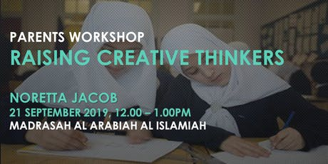RAISING CREATIVE THINKERS tickets