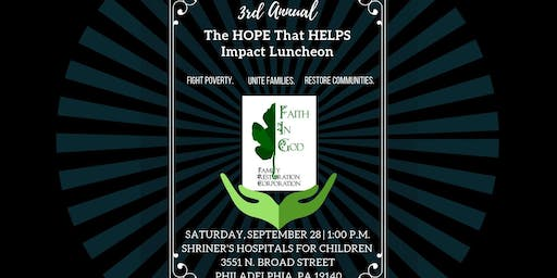 3rd Annual Hope That Helps Impact Luncheon