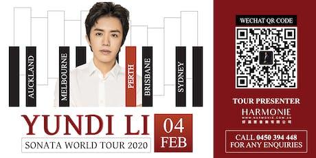 Yundi Li Sonata World Tour 2020 Perth Concert tickets