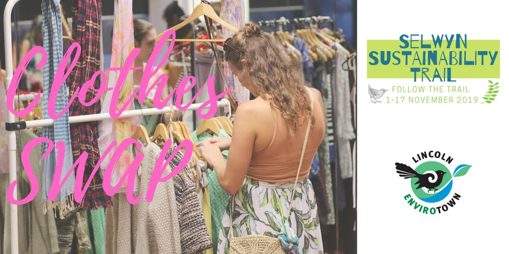 Clothes Swap - Selwyn Sustainability Trail Registration, Thu