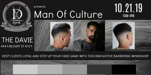 Man Of Culture Barber Workshop