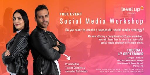 Free 2-hour Social Media Marketing Workshop