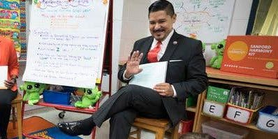 Family Child Care Providers Meet With Chancellor Richard Carranza