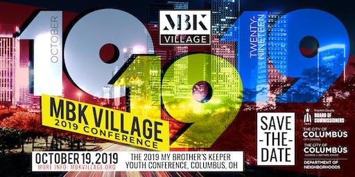 ORGANIZATION RSVP - MBK Village Youth Conference 2019