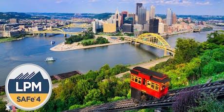 SAFe Lean Portfolio Management -- Pittsburgh Oct 2019 tickets