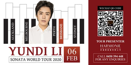 Yundi Li Sonata World Tour 2020 Brisbane Concert tickets