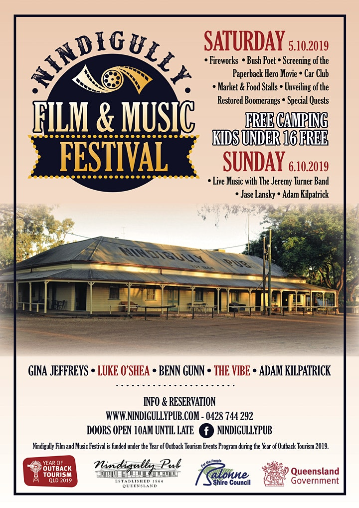 Nindigully Film & Music Festival image