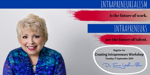 Creating Intrapreneurs: One Day Public Workshop BNE (September 2019)