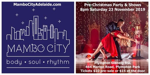Mambo City Adelaide Pre-Christmas Salsa Party & Shows