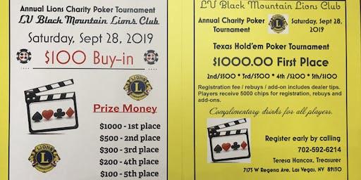 Charity Poker Tournament