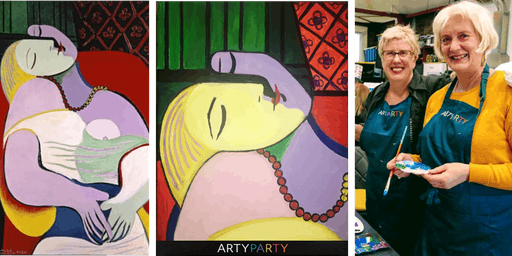 ARTYPARTY - Give Art a Go! Paint Picasso's Le Rêve - 1st drink free!