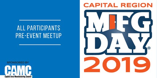 Capital Region MFG Day 2019: All Participants Meetup