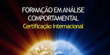 FORMAÇÃO EM ANÁLISE COMPORTAMENTAL ingressos