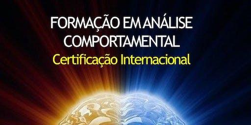FORMAÇÃO EM ANÁLISE COMPORTAMENTAL