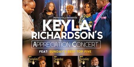 Keyla Richardsons Sundays Best Top Five Concert. tickets