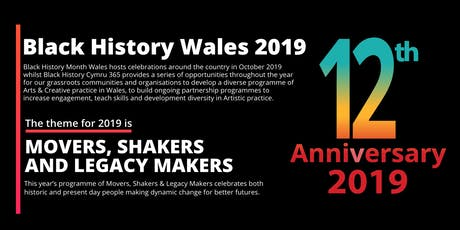 Black History Month Wales 2019 West Wales Launch tickets