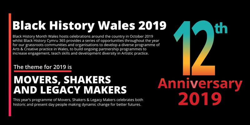 Black History Month Wales 2019 Newport Launch