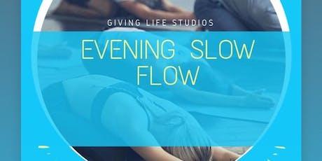 Slow Flow Vinyasa Yoga  tickets
