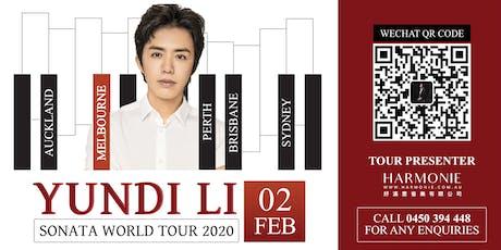 Yundi Li Sonata World Tour 2020 Melbourne Concert tickets