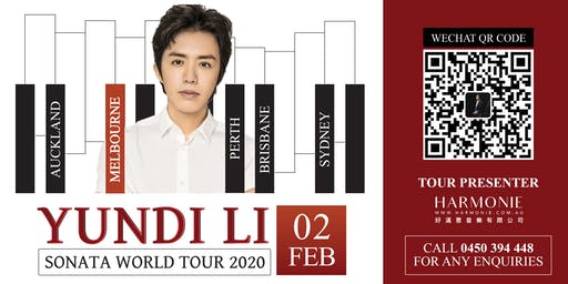 Yundi Li Sonata World Tour 2020 Melbourne Concert